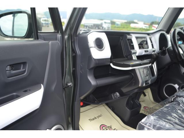 Gターボ 4WD(ダウンヒル機能付き)新品SDナビ フルセグTV DVD・CD Bluetooth対応 レーダーブレーキ シートヒーター アイドリングストップ スマートキー ターボ車(22枚目)