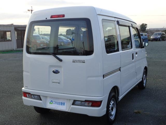 「スバル」「サンバーバン」「軽自動車」「熊本県」の中古車6