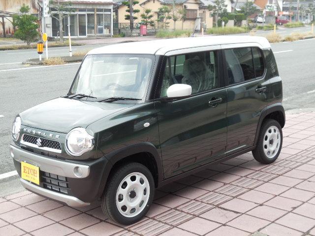 「スズキ」「ハスラー」「コンパクトカー」「熊本県」の中古車5