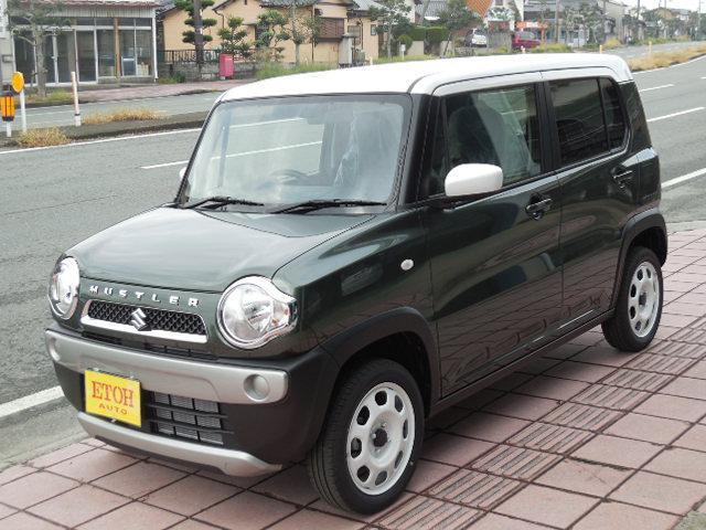「スズキ」「ハスラー」「コンパクトカー」「熊本県」の中古車4