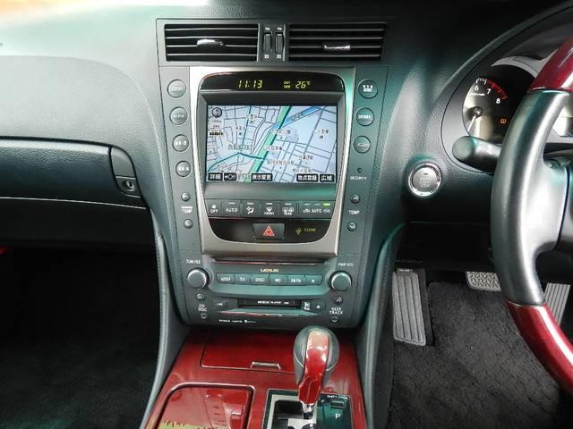 レクサス GS GS350 本革シート HDDマルチナビ 19インチアルミ