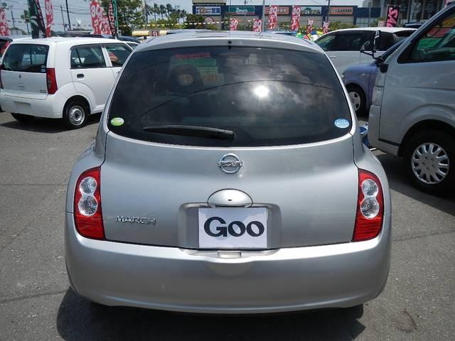 日産 マーチ 15G インテリキー CD Wエアバッグ プライバシーガラス