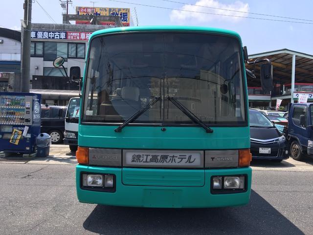 三菱ふそう 三菱ふそう 42人乗りバス ホテル送迎使用