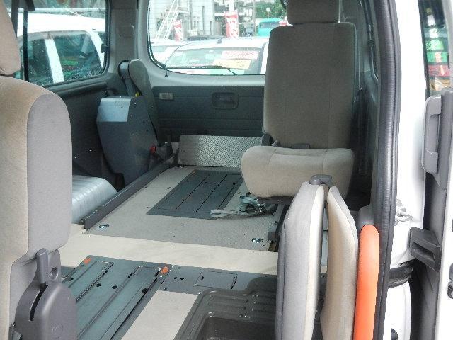 日産 キャラバンバス 福祉車輌 車椅子2台積移動車 基本フル装備 リヤエアコン