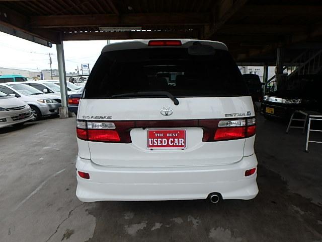 トヨタ エスティマT アエラス 4WD ナビ サンルーフ バックカメラ ETC