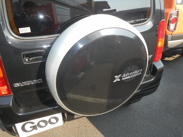 スズキ ジムニー クロスアドベンチャーXC AW キーレス 背面タイヤ