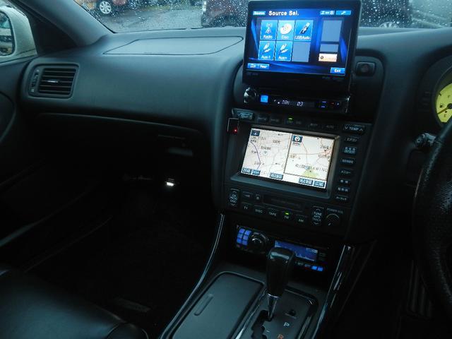 トヨタ アリスト V300ベルテックスエディション 黒革Pシート ナビBカメラ