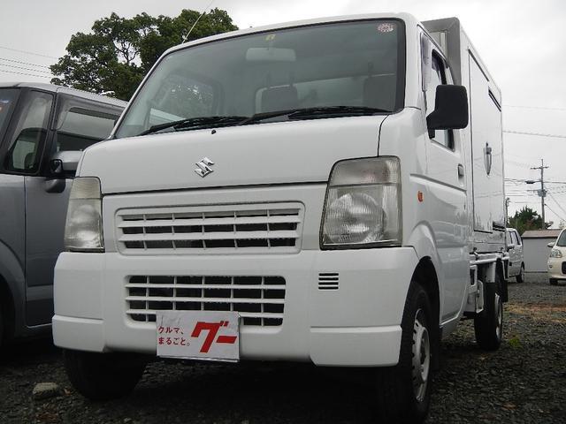 冷蔵・冷凍車 エアコン パワステ ライトレベライザー(6枚目)