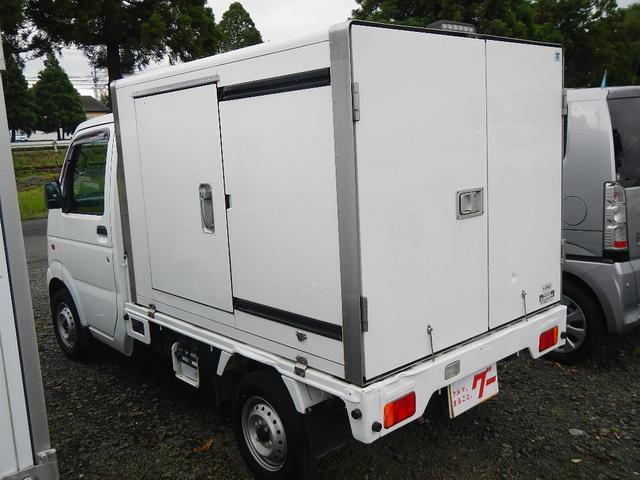 冷蔵・冷凍車 エアコン パワステ ライトレベライザー(7枚目)