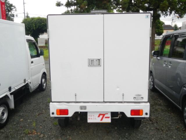 冷蔵・冷凍車 エアコン パワステ ライトレベライザー(9枚目)