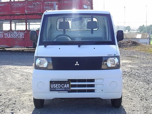 三菱 ミニキャブトラック 4WD 5速ミッション