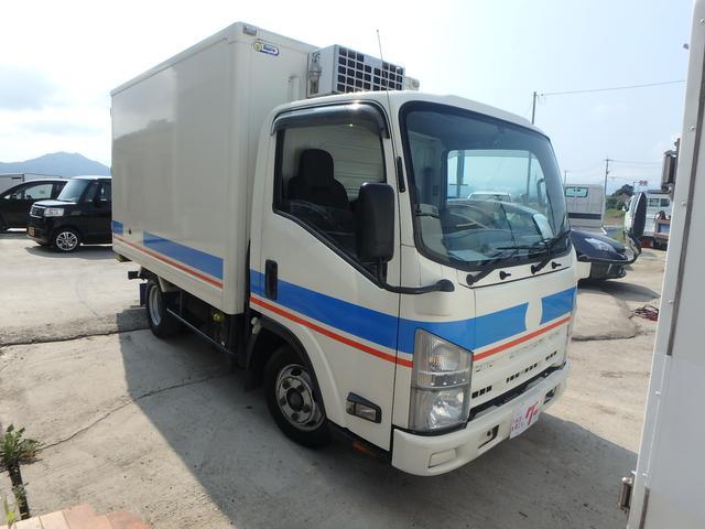 冷蔵冷凍車 5速MT ETC フル装備 Wタイヤ エアB(3枚目)