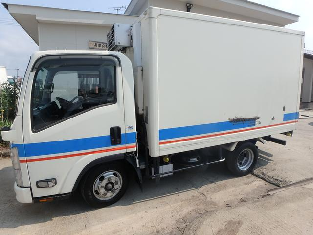 冷蔵冷凍車 5速MT ETC フル装備 Wタイヤ エアB(5枚目)
