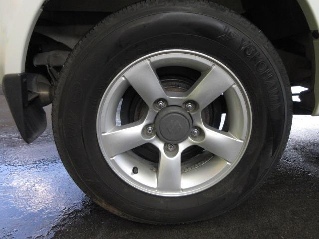 ワイルドウインド 4WD 5MT ルーフレール 背面タイヤ(6枚目)