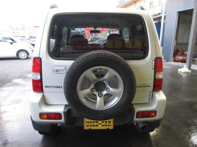 ワイルドウインド 4WD 5MT ルーフレール 背面タイヤ(7枚目)