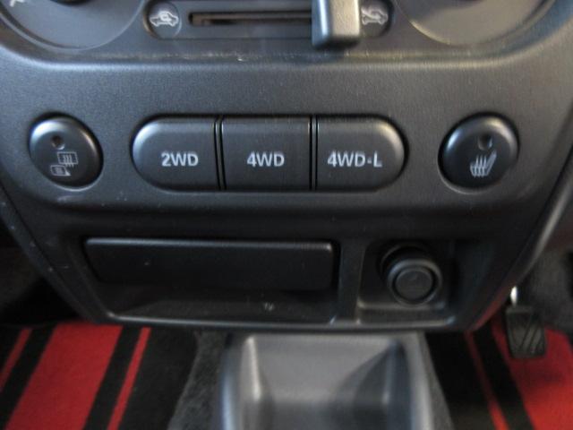 ワイルドウインド 4WD 5MT ルーフレール 背面タイヤ(17枚目)