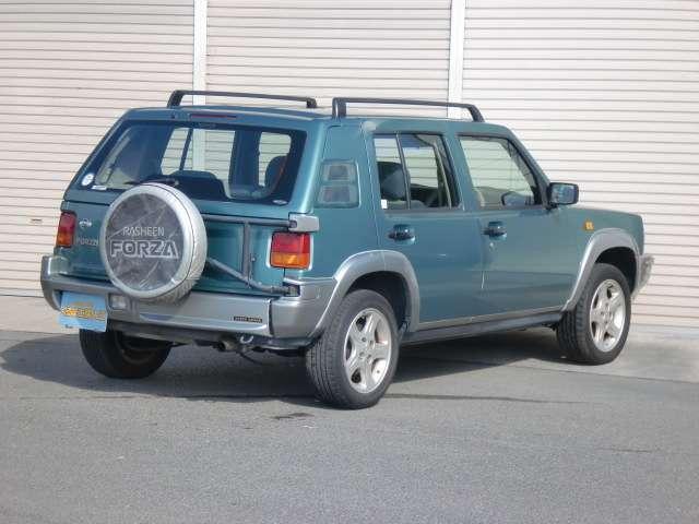 フォルザ ワンオーナー 4WD 取説・保証書 アルミホイール(2枚目)