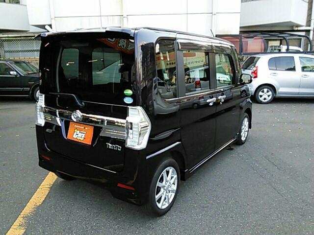 ダイハツ タント カスタムX SA パワースライド アルミ エコアイドル