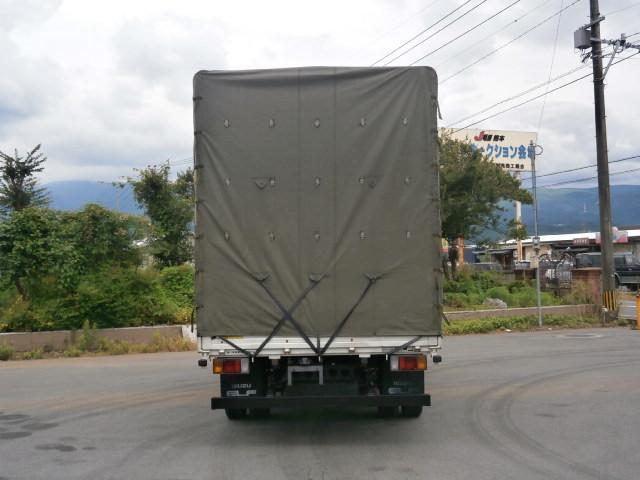 いすゞ エルフトラック 2t ワイド超ロング 幌車