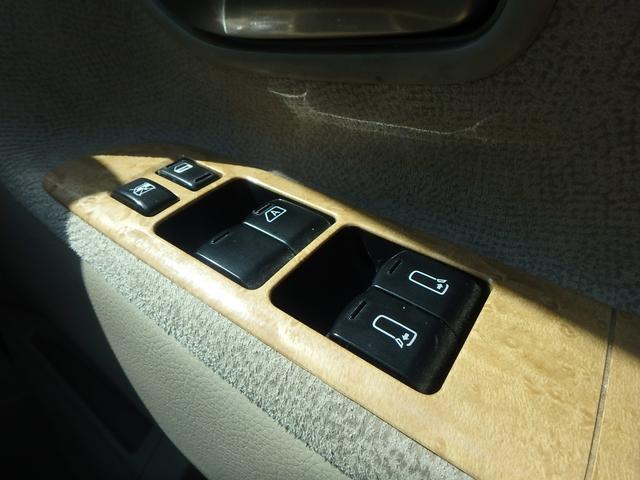日産 エルグランド X 4WD 純正ツインモニター パワースライドア