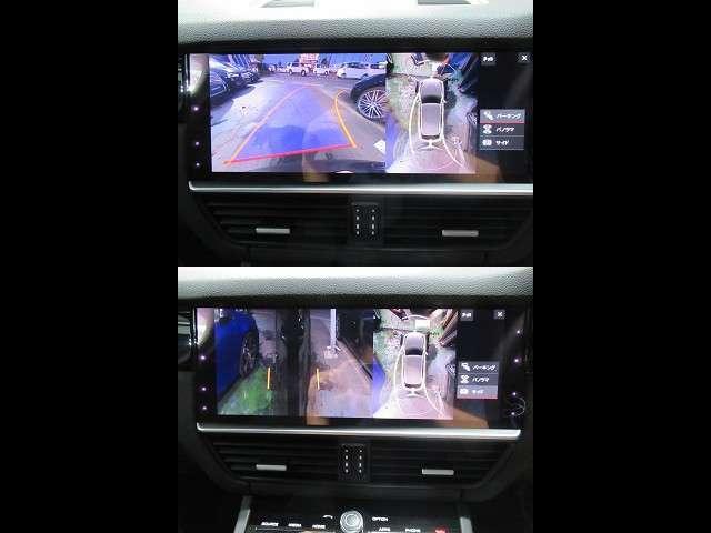 サラウンドビューシステムを装備し、車両周辺の状況を瞬時に掌握することが可能です!
