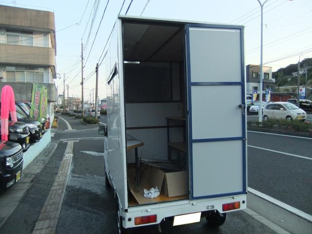 キッチンカー パネル板 移動販売車(9枚目)