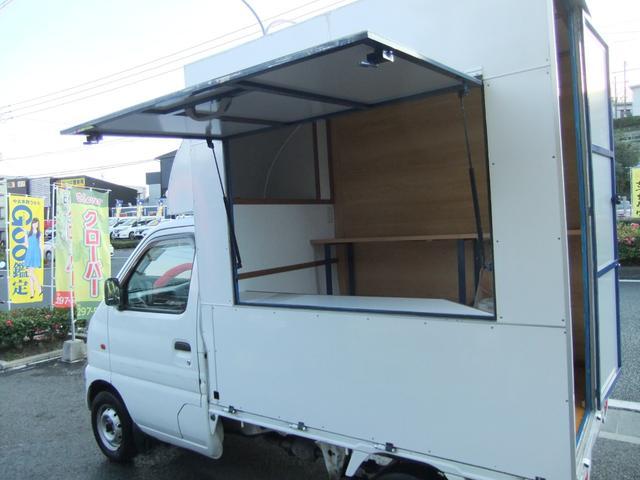 キッチンカー パネル板 移動販売車(13枚目)