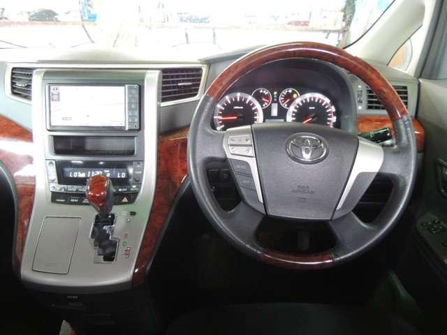 トヨタ ヴェルファイア 2.4Z プラチナセレクションII 両側パワスラ HDDナビ