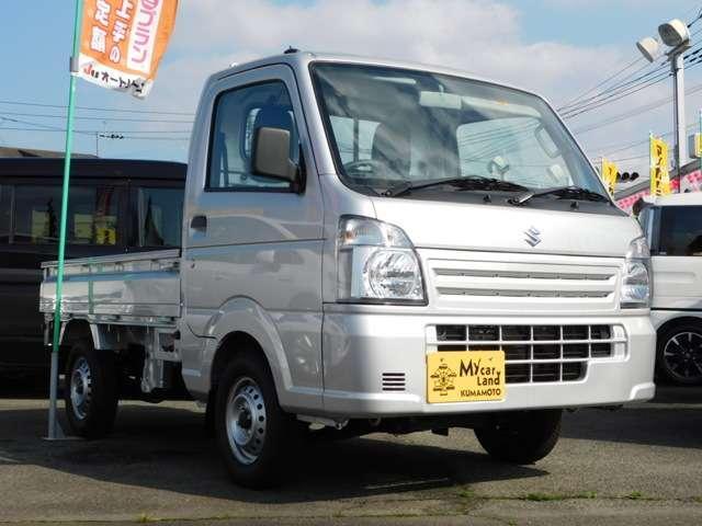 KCエアコン・パワステ 4WD 3方開 5速マニュアル(3枚目)