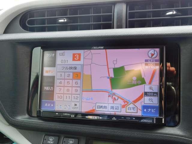 S イクリプスSDナビ・フルセグTV・CD・DVD・ETC・フロントシートヒーター付き・社外ドライブレコーダー・オートA/C・リヤスポイラー・純正15インチアルミ(4枚目)