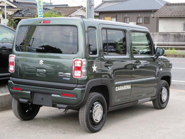 ハイブリッドG DAMD コンプリートカー CARABINA カラビナ 届出済未使用車 スズキセーフティサポート プッシュスタート&キーフリーキー  シートヒーター(4枚目)