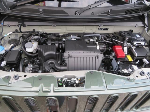 ハイブリッドG DAMD コンプリートカー CARABINA カラビナ 届出済未使用車 スズキセーフティサポート プッシュスタート&キーフリーキー  シートヒーター(30枚目)