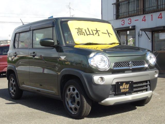 「スズキ」「ハスラー」「コンパクトカー」「宮崎県」の中古車4