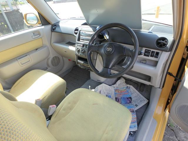 トヨタ bB オープンデッキ キーレス CD