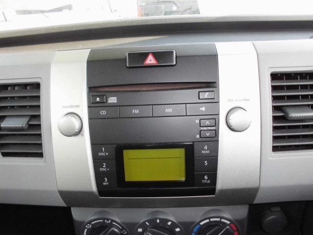 スズキ ワゴンR FX キーレス純正CD社外アルミ5速マニュアル