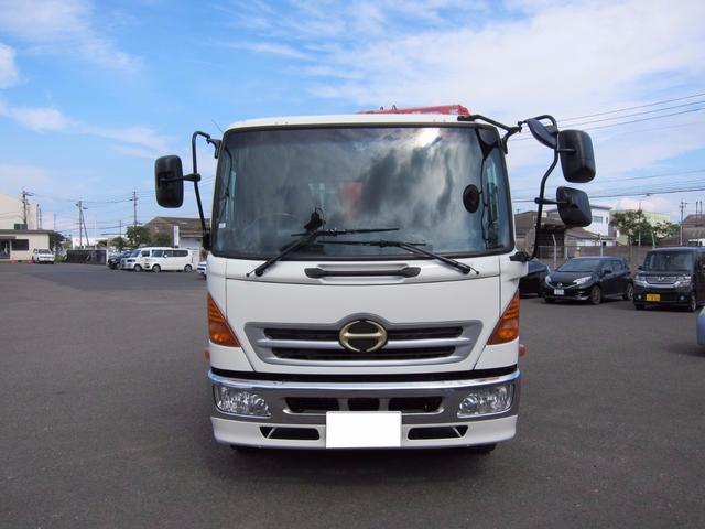 日野 レンジャープロ 増トン最大積載7500K ユニック4段340 ラジコン