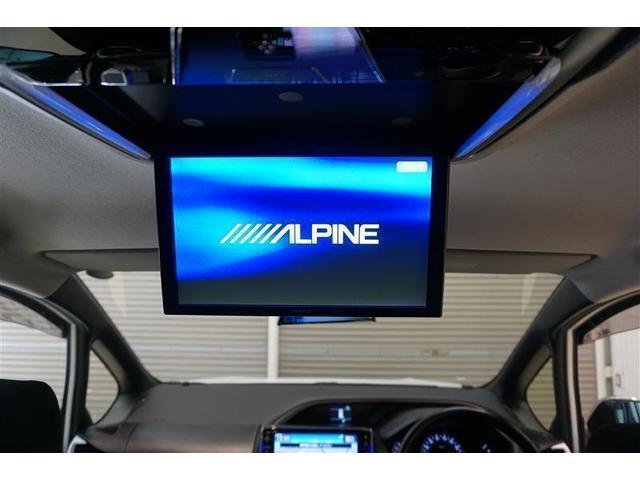 後部座席の天井にはフリップダウンモニターを装備☆後部座席に座りながらテレビやDVDも視聴できるので長時間のドライブが楽しくなりますよ☆