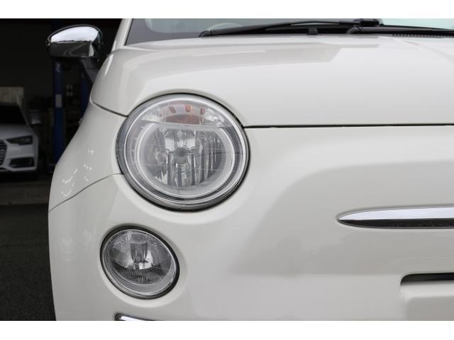 1.2 8V ラウンジ SS 正規ディーラー車 禁煙 特別仕様車LOUNGE SS ポータブルナビ バックカメラ ワンセグTV ガラスルーフ ドアサイドモール クロームミラーカバー イタリアンフラッグフェンダーバッジ(8枚目)