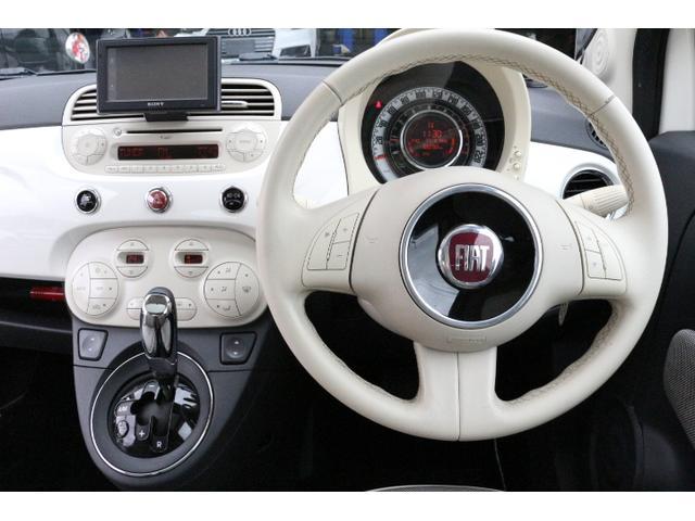 1.2 8V ラウンジ SS 正規ディーラー車 禁煙 特別仕様車LOUNGE SS ポータブルナビ バックカメラ ワンセグTV ガラスルーフ ドアサイドモール クロームミラーカバー イタリアンフラッグフェンダーバッジ(14枚目)