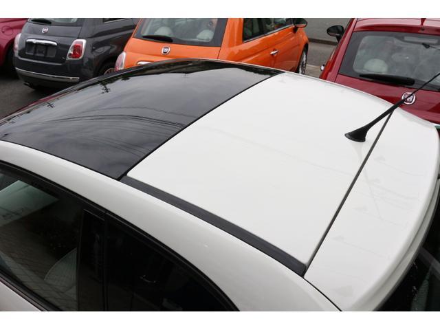 1.2 8V ラウンジ SS 正規ディーラー車 禁煙 特別仕様車LOUNGE SS ポータブルナビ バックカメラ ワンセグTV ガラスルーフ ドアサイドモール クロームミラーカバー イタリアンフラッグフェンダーバッジ(29枚目)