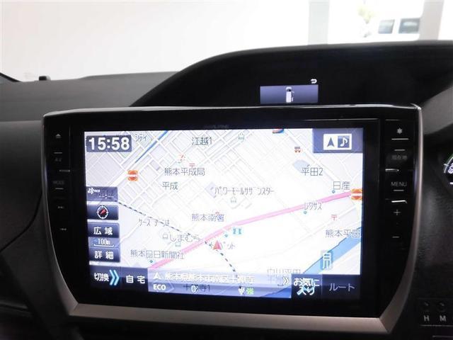 ハイブリッドXi フルセグ メモリーナビ DVD再生 ミュージックプレイヤー接続可 後席モニター バックカメラ 衝突被害軽減システム 電動スライドドア LEDヘッドランプ 乗車定員7人 3列シート(9枚目)