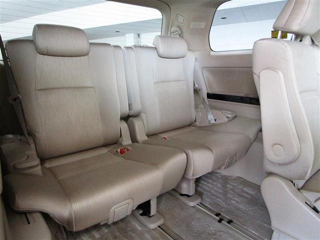 G 4WD フルセグ HDDナビ DVD再生 ミュージックプレイヤー接続可 後席モニター バックカメラ ETC 両側電動スライド HIDヘッドライト 乗車定員7人 3列シート フルエアロ(18枚目)