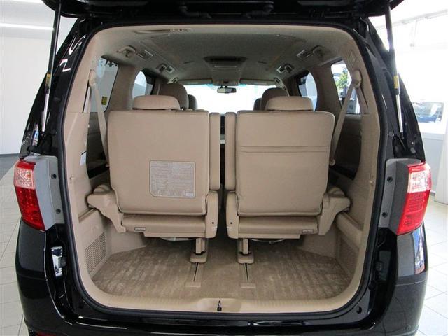 G 4WD フルセグ HDDナビ DVD再生 ミュージックプレイヤー接続可 後席モニター バックカメラ ETC 両側電動スライド HIDヘッドライト 乗車定員7人 3列シート フルエアロ(19枚目)