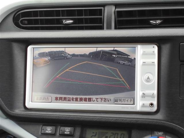 トヨタ アクア S ナビ TV バックカメラ