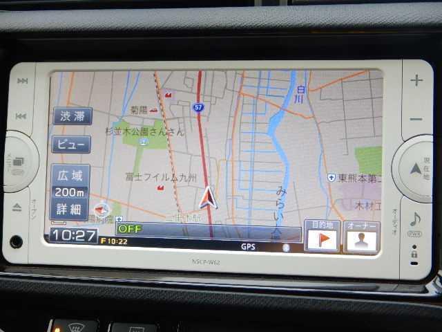 トヨタ アクア 1.5G G's 純正SDナビTV バックカメラ