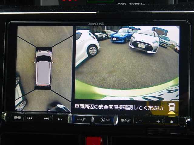 カスタムG SAII 社外SDナビTV 全方位カメラ(5枚目)