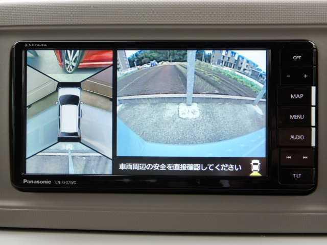 G リミテッド SA3 全方位カメラ(ナビ/フルセグTV) 全方位カメラ(5枚目)