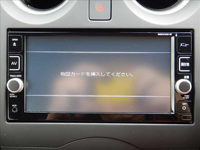 日産 ノート X エマージェンシーブレーキ ナビ TV