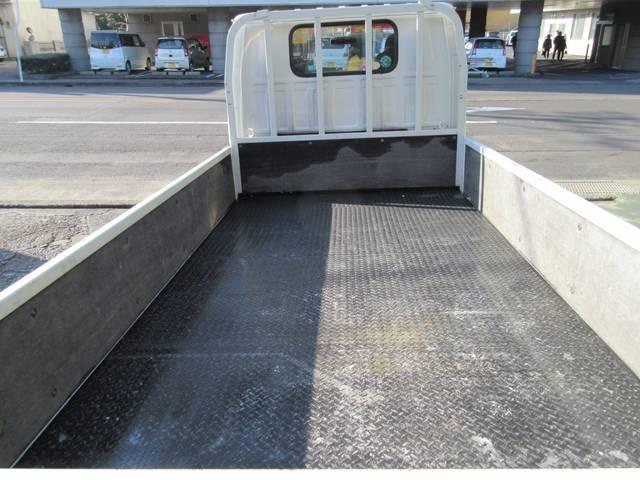 ロングフラットロー 低床 荷台縞鉄板張り ETC(18枚目)