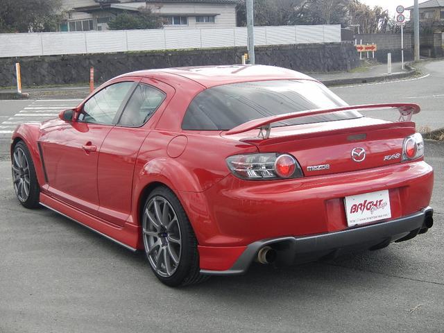 マツダ RX-8 タイプS マツダスポーツエアロ・マフラー 車高調 18AW
